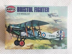 Vintage Airfix Bristol Fighter, 1:72 Scale, Made in NZ - sealed
