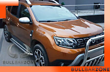 DACIA DUSTER II 2017+ MARCHE-PIEDS INOX PLAT / PROTECTIONS LATERALES