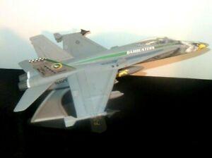 Vintage Desk Top US Navy F-18 Hornet Dam busters VFA 309 Model Jet Airplane