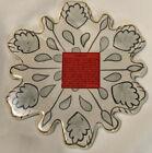 Blue Sky Clayworks Ceramic Base For Tea Light Candle Holder Snowflake CL20028