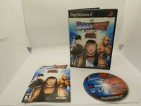 WWE Smackdown vs. Raw 2008 (Playstation 2 PS2) complete Tested Working