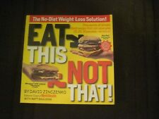 Eat This Not That! Books & (Free) Sample Issue of Eat This Not That Magazine