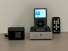 APPLE IPOD CLASSIC 120 gb + PROJECT DOCKING BOX +CARICABATTERIE  APPLE +CUSTODIA