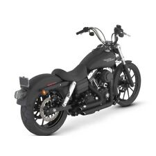 Scarichi by Vance & Hines (shortshots Staggered)black) for H-d Dyna 06/11
