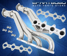 Long Tube Exhaust Manifold Header For 05 06 07 08 09 10 Ford Mustang GT 4.6L V8