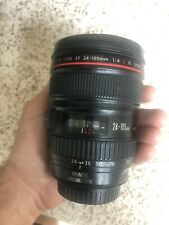 Canon 24-105mm F/4 L IS USM Lens Clean & Ready to shoot