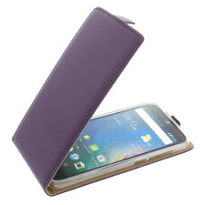 Custodia Per Acer Liquid Z630 Cellulare Modello Flip Protettiva Case Lilla