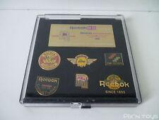 PIN'S / Coffret de 6 Pin's Reebok Limited Edition Volume 1