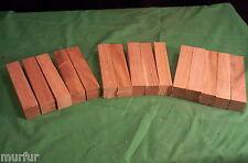 15 Pc Cherry Pen Turning Blanks 1  x  1  x  5 1/2  Lathe Turning
