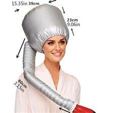New Portable Soft Hair Drying Salon Cap home Bonnet Hood Hat Blow Dryer Attachme