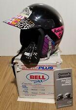 Vintage Bell Pro Plus BMX helmet-Large-Black-Original Box-Paperwork-FREE SHIP