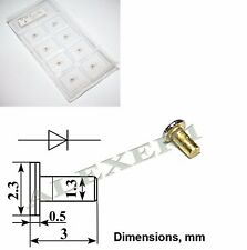 1x 3A727V Military GaAs Gunn Oscillator diode 42...47GHz 120mW