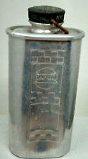 VINTAGE REGAID ALUMINIUM DRINKING FLASK 1930'S WATER CONTAINER SCREW TOP