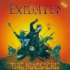 THE EXPLOITED - MASSACRE (SPECIAL EDITION),THE 2 VINYL LP NEW+