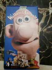 Wallace and Gromit 3 VHS Tape Boxes. BBC VIDEO.