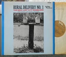 THE NEW LOST CITY RAMBLERS - Rural Delivery No. 1   1965  Verve Folkways
