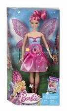 BARBIE MARIPOSA  & THE FAIRY PRINCESS PINK DOLL WINGS FLUTTER Y6376 *NU*