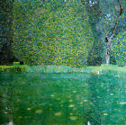 Gustav Klimt Pond at the Palace Kammer on the Atte canvas print giclee 8X8&12X12
