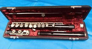 Monnig Gebruder Wooden Bohem Flute In C