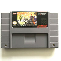 Treasure of the Rudras for snes game cartridge english translated