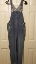 Vintage Gap Men's Industrial Denim Bib Overalls Carpenter Farmer Jeans Size XS
