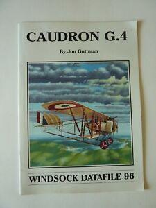 Caudron G.4, Windsock Datafile 96 by Jon Guttman WWI Aircraft
