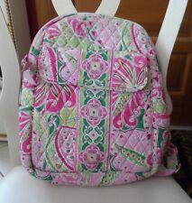 Vera Bradley backpack in retired Pinwheel Pink pattern  #2