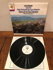 JB 10 - CHABRIER - Espana ANSERMET Suisse Romande - LP NM/EX+