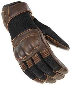 Joe Rocket Mercury Gloves - Motorcycle Street Bike Riding Leather Touch Screen