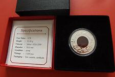 *Britisch Virgin Islands(Jungferninseln) 10 Dollars 2012 Silber PP* Drachen