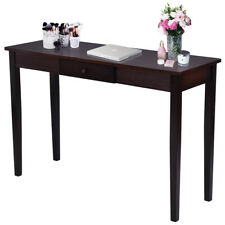 Etonnant Console Table Entry Hallway Entryway Side Sofa Accent Table Drawer Wood New