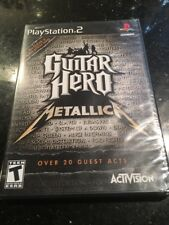 Guitar Hero: Metallica Sony PlayStation 2 PS2 Brand New Factory Sealed