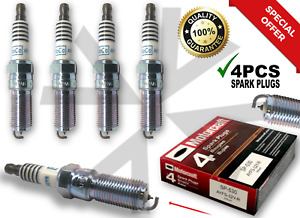 4 PCS SP-530 Spark Plugs AYFS32YR Fit For Escape Lincoln MKZ SP530 Fusion 🔥