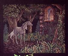 Just CrossStitch DREAMSCAPE - UNICORN Cross Stitch Leaflet by Teresa Wentzler