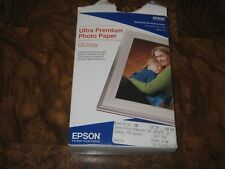 New Epson Ultra Premium Photo Paper Glossy S042174 4x6 100 sheets