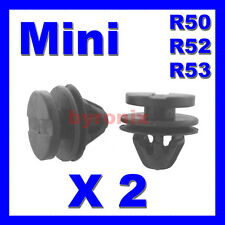 BMW MINI REAR WHEEL ARCH TRIM CLIPS FASTENERS ONE S COOPER R50 R52 R53 PLASTIC