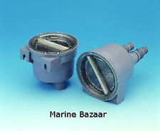 RAW WATER INLET STRAINER FOR 19MM,25MM HOSE SAILING FISHING YACHT BOAT