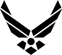 US AIR FORCE Decal Sticker Free Shipping