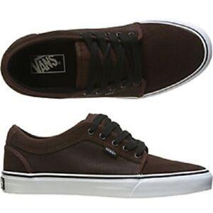 Vans CHUKKA LOW Fluorescent Brown Skateboarding Discounted (162)Men's Shoes