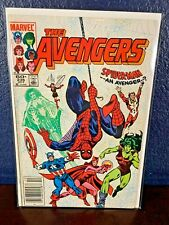 Spider-Man THE AVENGERS 236 Newsstand UPC 1983 Thor She Hulk Scarlet Witch Comic