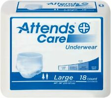 Attends APV40 Protective Underwear, Regular Abs, 58-68 X-Large, PK/14