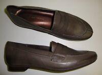 ANDREA TOKIO Damen Halbschuhe / Slipper Leder Vintage grau 37 NEU