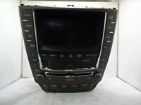 2010-2011 Lexus IS350 Display and Receiver AM FM CD Player W/ Navigation OEM LKQ