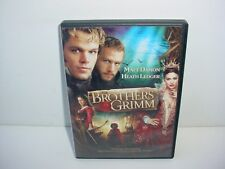 The Brothers Grimm DVD Movie