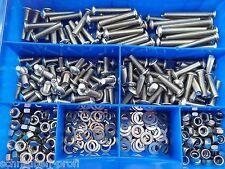 340 piezas cabeza Allen tornillos surtido ISO 7380 M5 fahrradbox