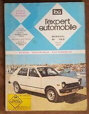 TOYOTA STARLET 1980 REVUE TECHNIQUE AUTOMOBILE l'ea