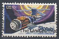 USA Briefmarke gestempelt 10c Skylab Weltraum  / 167