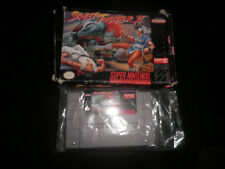 Super Nintendo, Snes - streetfighter 2 -  boxed ntsc