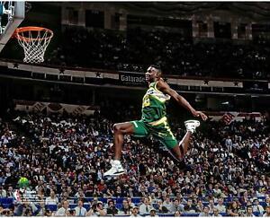 Shawn Kemp Seattle Supersonics NBA All-Star 1991 Slam Dunk Contest 8x10 Photo