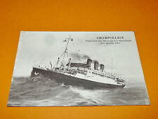 CPA 1926 PAQUEBOT CHAMPOLLION MESSAGERIES MARITIMES